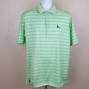 Peter Millar Men's Golf Polo Size XL Multicolor Gr